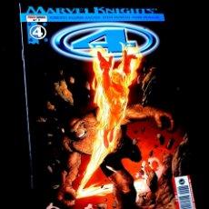 Cómics: EXCELENTE ESTADO LOS 4 FANTASTICOS 2 MARVEL KNIGHTS COMICS PANINI. Lote 295619588