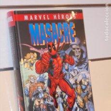 Cómics: MARVEL HEROES MASACRE Nº 3 VERANO CRUEL TOMO CARTONÉ - PANINI. Lote 295722888