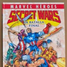Cómics: SECRRT WARS. LA BATALLA FINAL. COMIC PANINI. MARVEL HEROES. Lote 296017318