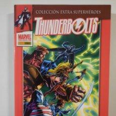 Cómics: THUNDERBOLTS 1 - COLECCION EXTRA SUPERHEROES - TOMO MARVEL PANINI. Lote 238052325