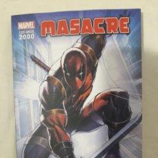Cómics: EL RENACIMIENTO DE MARVEL: MASACRE. Lote 296686083