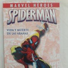 Cómics: MARVEL HEROES SPIDERMAN VIDA Y MUERTE DE LAS ARAÑAS. Lote 296687498