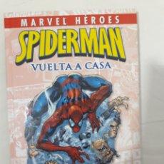 Cómics: MARVEL HEROES SPIDERMAN VUELTA A CASA. Lote 296688303