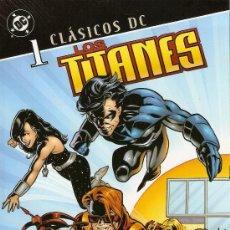 Cómics: CLÁSICOS DC - LOS TITANES Nº 1 (1 DE 3) PLANETA DEAGOSTINI -2007. Lote 151681284