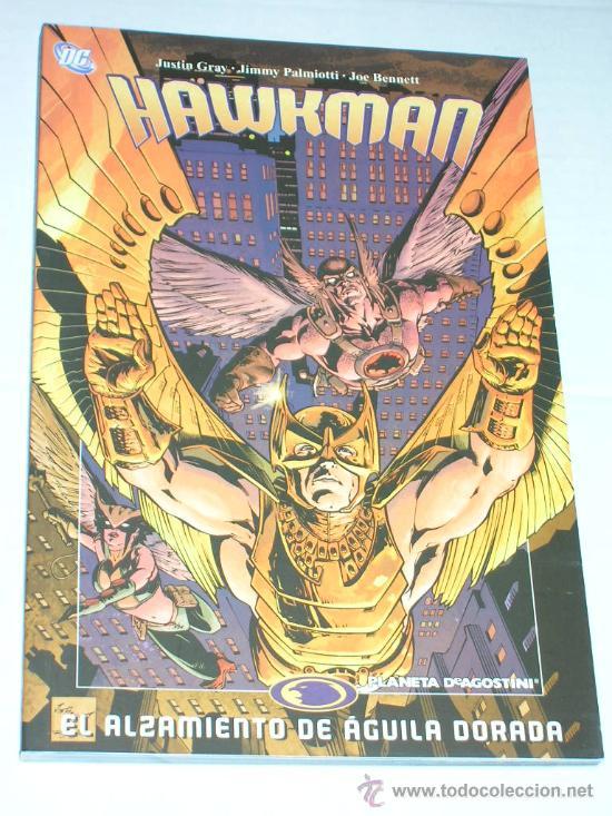 HAWKMAN #4 EL ALZAMIENTO DE AGUILA DORADA (Tebeos y Comics - Planeta)