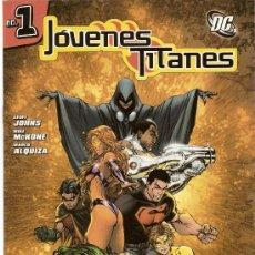 Cómics: JOVENES TITANES - 18 NÚM. (VOL I Y II) - PLANETA DEAGOSTINI (2005) - DC - CASI COMPLETA!!. Lote 27210028