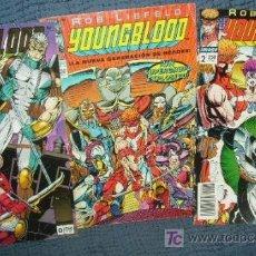 Cómics: LOTE DE 3 CÓMICS: Nº 0-1-2 DE YOUNGBLOOD - WORLD COMICS / PLANETA DEAGOSTINI - AÑO 1994.. Lote 16302985