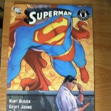 Cómics: SUPERMAN : UN AÑO DESPUES ¡ ONE SHOT 192 PAGINAS ! KURT BUSIEK - GEOFF JOHNS / PLANETA - DC. Lote 35928208