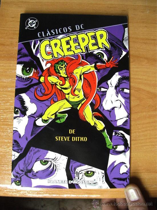 CLASICOS DC : CREEPER DE STEVE DITKO ¡ ONE SHOT DE 256 PAGINAS ! DC - PLANETA (Tebeos y Comics - Planeta)