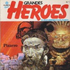 Cómics: GRANDES HÉROES. PLANETA. LOTE DE 11 EJEMPLARES. Lote 19477960