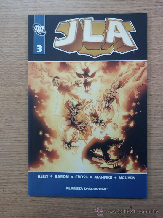 JLA VOL 1 #3 (Tebeos y Comics - Planeta)