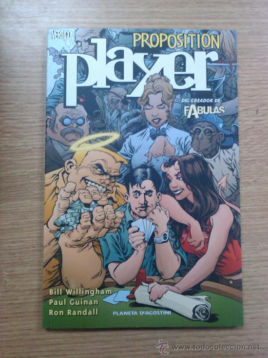 PROPOSITION PLAYER (Tebeos y Comics - Planeta)