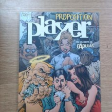 Cómics: PROPOSITION PLAYER. Lote 23505075