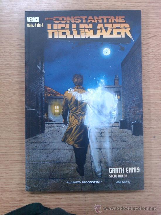 HELLBLAZER DE GARTH ENNIS #4 (Tebeos y Comics - Planeta)