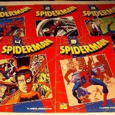 Cómics: PLANETA AGOSTINI/ SPIDERMAN, TOMOS 1-2-3-4-5 ¡¡ VER !!. Lote 27262562
