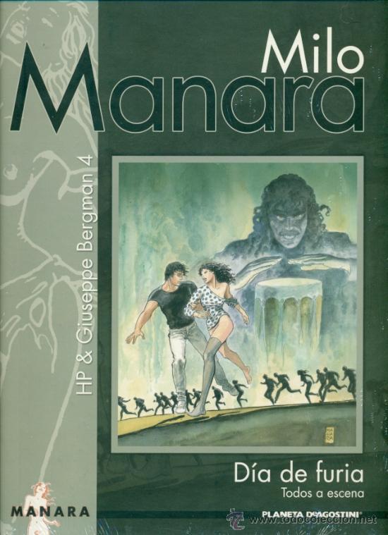 MILO MANARA - DIA DE FURIA TODOS A ESCENA - TAPA DURA PRECINTADO PLANETA (Tebeos y Comics - Planeta)
