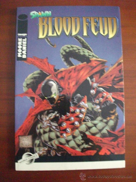 SPAWN BLOOD FEUD TOMO IMAGE (Tebeos y Comics - Planeta)