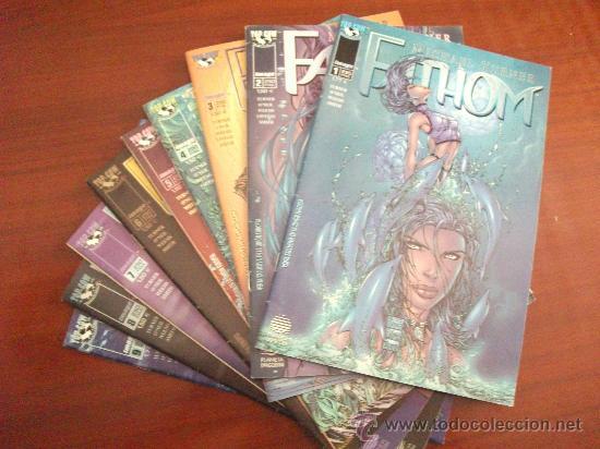 FATHOM 1 AL 9 IMAGE (Tebeos y Comics - Planeta)