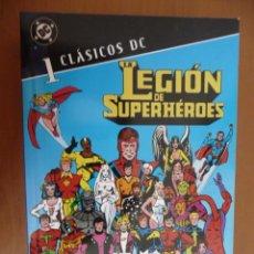 Cómics: CLÁSICOS DC. LA LEGIÓN DE SUPERHÉROES. TOMO 1. PLANETA. Lote 28641583