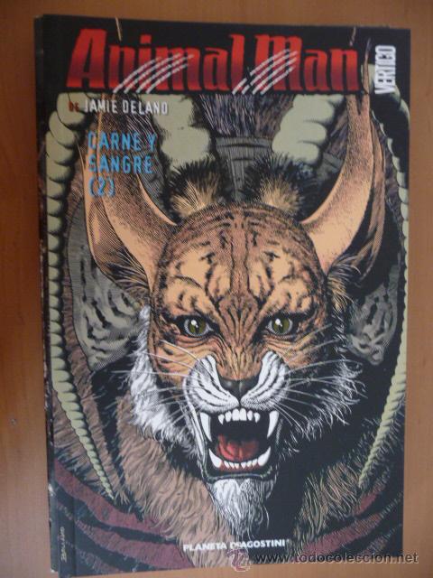 ANIMAL MAN. LIBRO 2. CARNE Y SANGRE. PLANETA (Tebeos y Comics - Planeta)