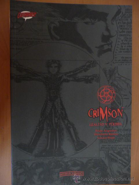 CRIMSON. TOMO 1. LEALTAD Y PÉRDIDA. WORLD COMICS (Tebeos y Comics - Planeta)