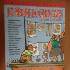 Cómics: LO MEJOR DE CADA CASA. AUTORES ESPAÑOLES. PLANETA. Lote 28653902