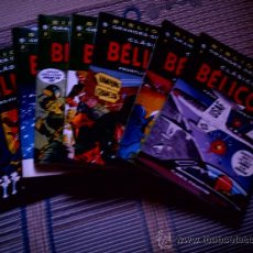Cómics: BIBLIOTECA CLASICOS DEL COMIC. CLASICOS BELICOS Nº 1 A 7 (COLECCION COMPLETA). Lote 28226661