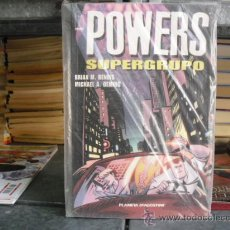 Cómics: POWERS: SUPERGRUPO - BENDIS / OEMING - PLANETA. Lote 29084123