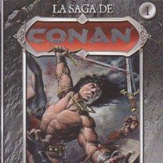Cómics - LA SAGA DE CONAN - LOTE 3 TOMOS Nº 1, 2, 4, , OFERTA - 29119941