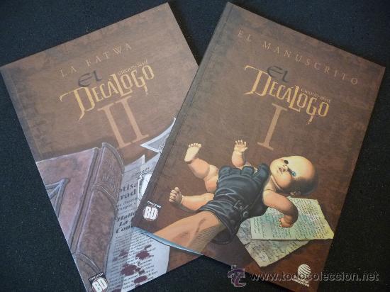 EL DECÁLOGO. TOMOS I Y II. COLECCIÓN BD. PLANETA (Tebeos y Comics - Planeta)