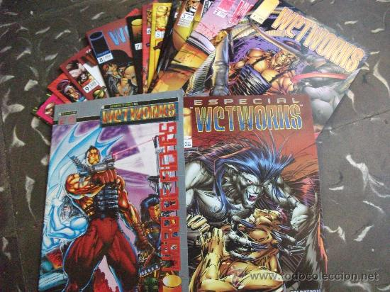WETWORKS COMPLETA IMAGE COMICS (Tebeos y Comics - Planeta)