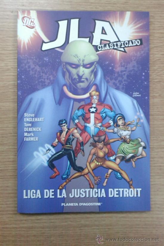 JLA CLASIFICADO #4 LIGA DE LA JUSTICIA DETROIT (Tebeos y Comics - Planeta)