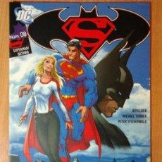 Cómics: SUPERMAN/BATMAN Nº 8 - PLANETA DEAGOSTINI (DC). Lote 30808790