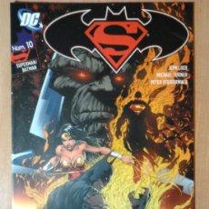Cómics: SUPERMAN/BATMAN Nº 10 - PLANETA DEAGOSTINI (DC). Lote 30808812