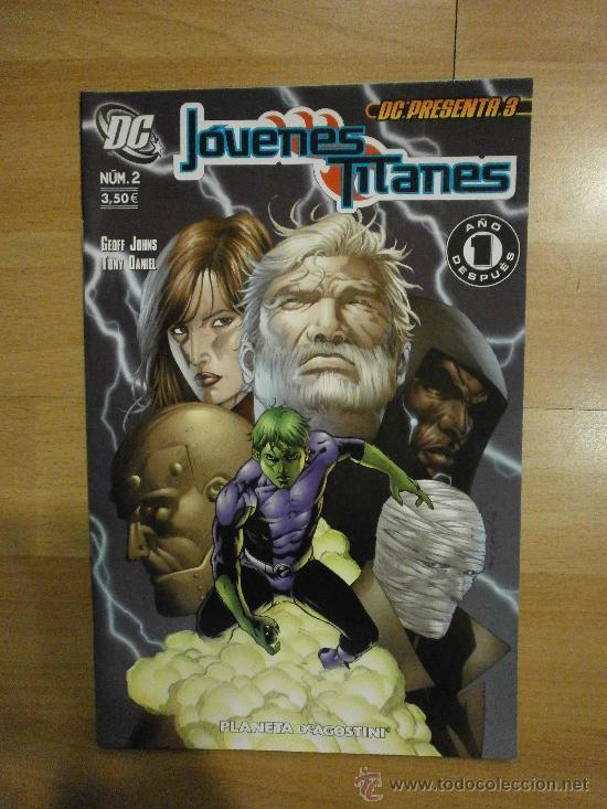 DC PRESENTA Nº 3: JÓVENES TITANES Nº 2 (Tebeos y Comics - Planeta)