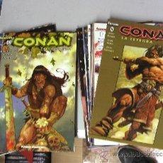 Cómics: CONAN LA LEYENDA ¡ LOTE CON 25 NUMEROS ! PLANETA. Lote 31351949