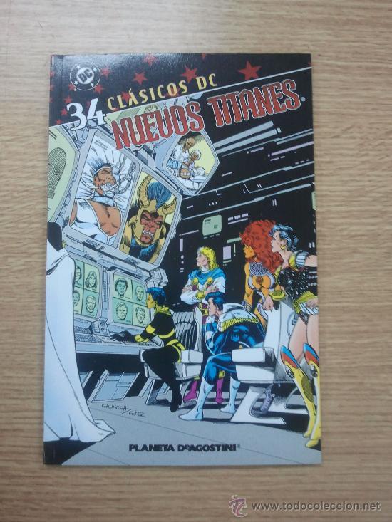 NUEVOS TITANES #34 (CLASICOS DC) (Tebeos y Comics - Planeta)