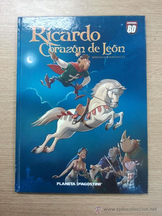 RICARDO CORAZON DE LEON (Tebeos y Comics - Planeta)