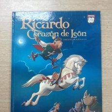 Cómics: RICARDO CORAZON DE LEON. Lote 31798624