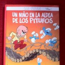 Cómics: LOS PITUFOS Nº26, UN NIÑO EN LA ALDEA DE LOS PITUFOS,PLANETA DE AGOSTINI, NUEVO, DESCATALOGADO,RARO. Lote 32206112