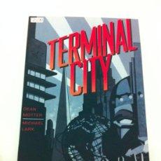 Cómics: TERMINAL CITY - DEAN MOTTER Y MICHAEL LARK - VERTIGO - PLANETA. Lote 32406637