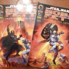 Cómics: STAR WARS. BOBA FETT. ENEMIGO DEL IMPERIO. COMPLETA EN DOS PRESTIGIOS. Lote 32414088