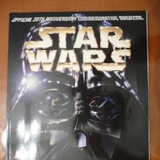 Cómics: STAR WARS. OFFICIAL 20TH ANNIVERSARY COMMEMORATIVE MAGAZINE. ENGLISH. Lote 32414164