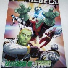 Cómics: R.E.B.E.L.S. Nº 1: LA LLEGADA DE STARRO. PLANETA. Lote 32779287