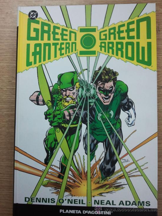 GREEN LANTERN GREEN ARROW DE NEAL ADAMS ABSOLUTE (Tebeos y Comics - Planeta)