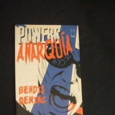 Cómics: POWERS ANARQUIA - BENDIS OEMING - PLANETA - . Lote 33285213