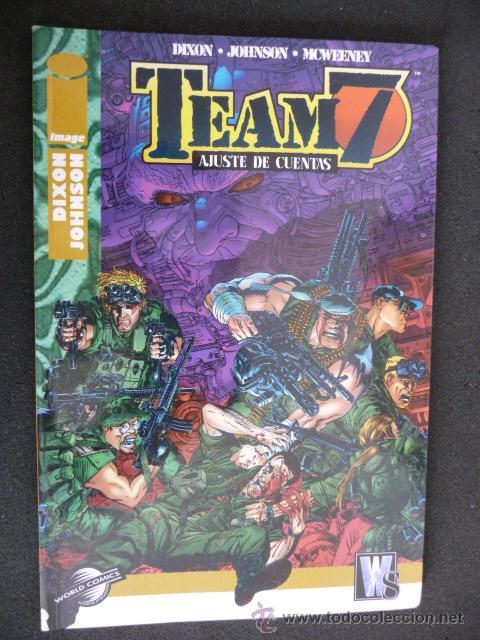 TEAM 7. AJUSTE DE CUENTAS. PLANETA (Tebeos y Comics - Planeta)