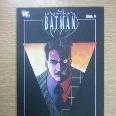 Cómics: LEYENDAS DE BATMAN #4 ROSTROS. Lote 34222358