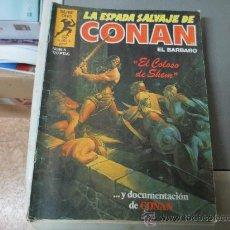 Cómics: LA ESPADA SALVAJE DE CONAN. Lote 54678253