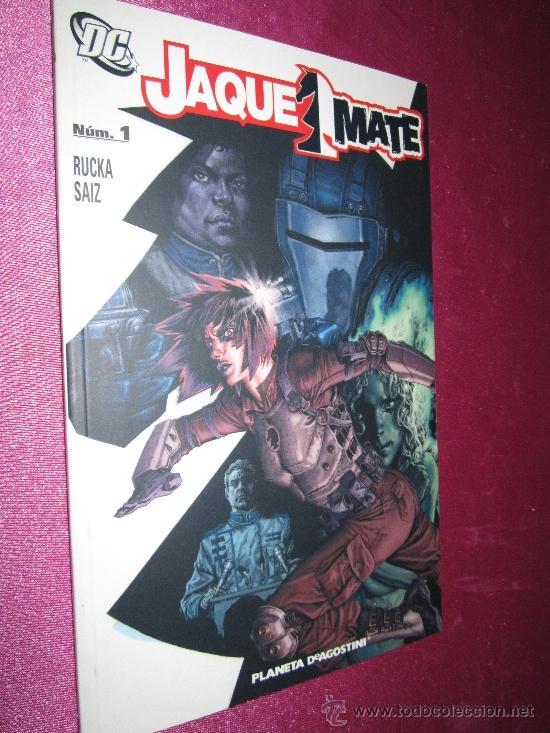 JAQUE MATE Nº 1 DC PLANETA (Tebeos y Comics - Planeta)